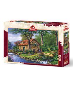 art puzzle 1000 parça huzurun kıyısında 68x48cm img