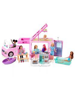 barbie'nin üçü bir arada rüya karavanı img