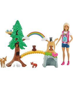 barbie tropikal yaşam rehberi bebek ve oyun seti img