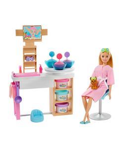 barbie yüz bakımı yapıyor oyun seti img