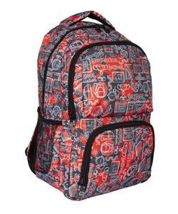 bear&deer pocket sırt çantası school kırmızı cn0155 img