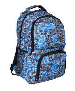 bear&deer pocket sırt çantası school mavi cn0156 img