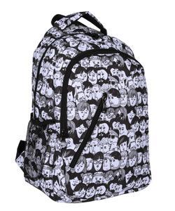bear&deer selection sırt çantası human siyah-beyaz cn0140 img
