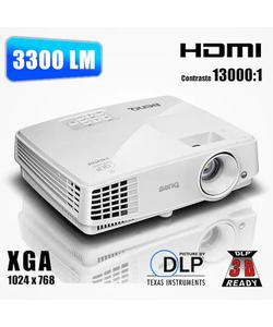 benq mx528 3300 ansi lümen 1024x768 xga 3d dlp projeksiyon cihazı img