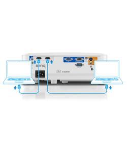 benq mx550 3600 ansi lümen 1024x768 xga dlp 3d projeksiyon cihazı img