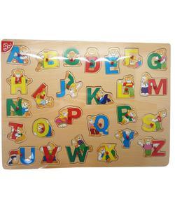 bu-bu ahşap puzzle ayıcıklı harfler ap0090 img