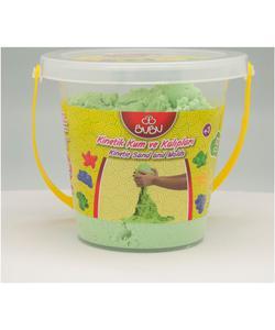 bubu kinetik kum kova 1000 gr. yeşil img