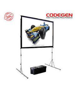 codegen 300x225cm fast fold projeksiyon perdesi img