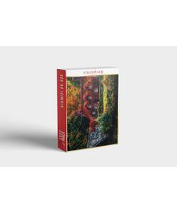 doğuş 1000 parça puzzle kırmızı ev 025 img