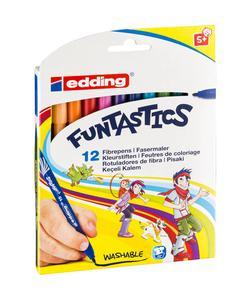 edding 15 funtastics keçe uçlu kalem i̇nce 12'li img