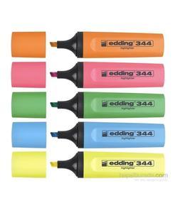 edding 344 fosforlu kalem 5'li set img
