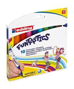 edding funtastics keçe uçlu kalem kalın 10'lu ed14k1099 img