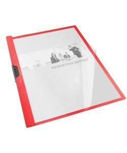 esselte 563730 vivida sıkıştırmalı dosya 25 adet kırmızı img