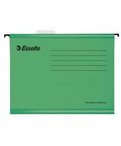 esselte 90318 ekonomi askılı dosya 25'li yeşil img