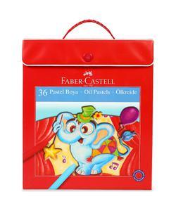 faber castell çantalı pastel boya 36 renk (5281125137) img