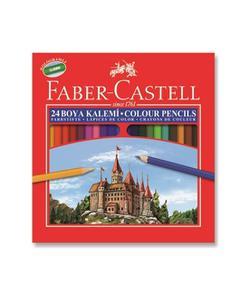 faber castell kuru boya kalemi 24 renk tam boy (5171116324) img