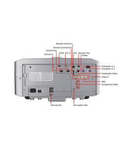hitachi cp-x10000 7500 lümen 1024x768 xga lcd projeksiyon cihazı img