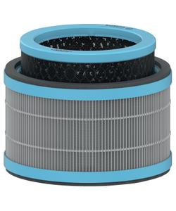 leitz trusens z-1000 hava temizleyici için alerji ve grip anti-viral 3'ü 1 arada hepa filtre tamburu img