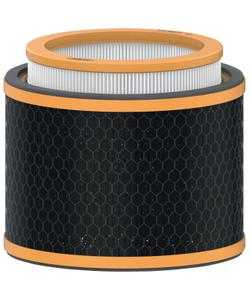 leitz trusens z-2000 / z-2500 hava temizleme cihazı için koku ve voc (uçucu organik bileşen) 3'ü 1 arada hepa filtre tamburu img