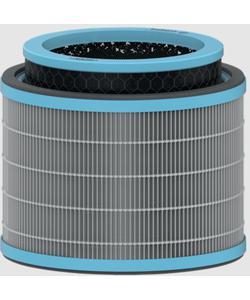 leitz trusens z-2000 / z-2500 hava temizleyici için alerji ve grip anti-viral 3'ü 1 arada hepa filtre tamburu img