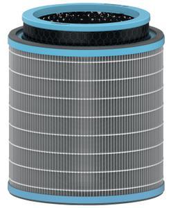 leitz trusens z-3000 / z-3500 hava temizleyici için alerji ve grip anti-viral 3'ü 1 arada hepa filtre tamburu img