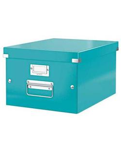 leitz wow c&s kutu küp orta boy metalik buz mavisi img