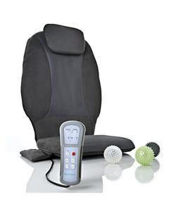 medisana 88902 isıtıcılı ovma ve titreşimli boyun destek yastıklı masaj minderi img