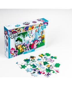 my little pony 100 parça puzzle img