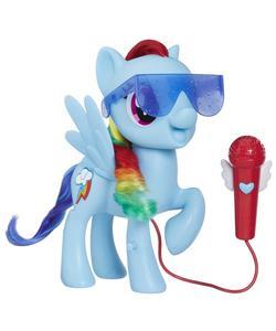 my little pony şarkı söyleyen rainbow dash img