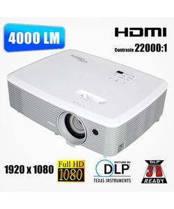 optoma eh400 4000 lümen 1920x1080 full hd dlp 3d projeksiyon cihazı img