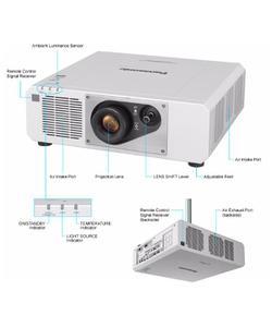 panasonic pt-rz570 5400 lümen 1920x1200 wuxga lazer projeksiyon cihazı img