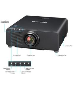 panasonic pt-rz670 6500 lümen lazer projeksiyon cihazı img