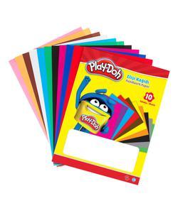 play-doh zarflı elişi kağıdı 10 renk img