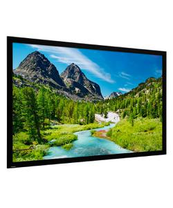 projecta 236x132 cm hd progressive fixed frame home screen projeksiyon perdesi img