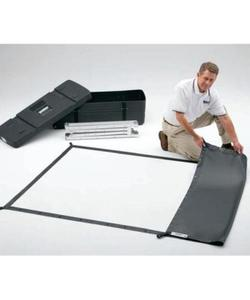 projecta 427x320cm fast fold surface yüzey projeksiyon perdesi img
