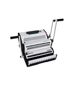 sarff sw2500 manuel çift sistem helezon(4:1)+tel(3:1) cilt makinesi img