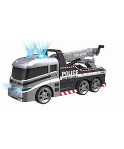teamsterz sesli ve işıklı polis çekici araç img