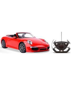rastar r/c 1/12 uzaktan kumandalı porsche 911 carrera s işıklı araba kırmızı img