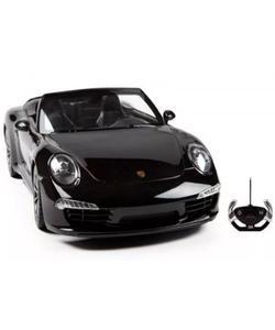 rastar r/c 1/12 uzaktan kumandalı porsche 911 carrera s işıklı araba - siyah img