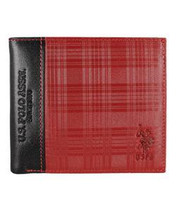 u.s. polo erkek cüzdan bordo plcz8410 img