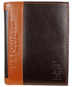 u.s. polo erkek cüzdan kahverengi plcz8396 img