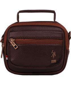u.s. polo erkek evrak çantası kahverengi plevr8418 img