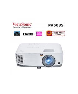 viewsonic pa503s 3600 ansi lümen 800x600 svga 3d projeksiyon cihazı img