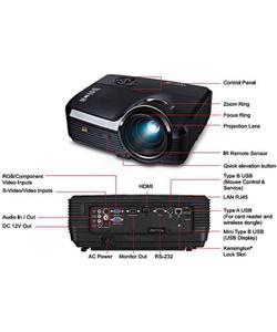 viewsonic pjd7533w 4000 lümen 1280x800 çöz wifi dlp projeksiyon cihazı img