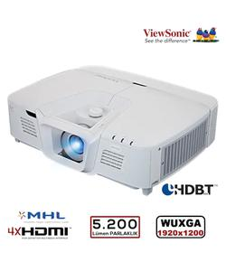 viewsonic pro8800wul 5200 lümen 1920x1200 wuxga 3d dlp network projeksiyon cihazı img