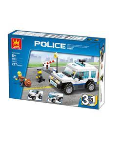 wange polis devriye arabası 3 in 1 217 parça img